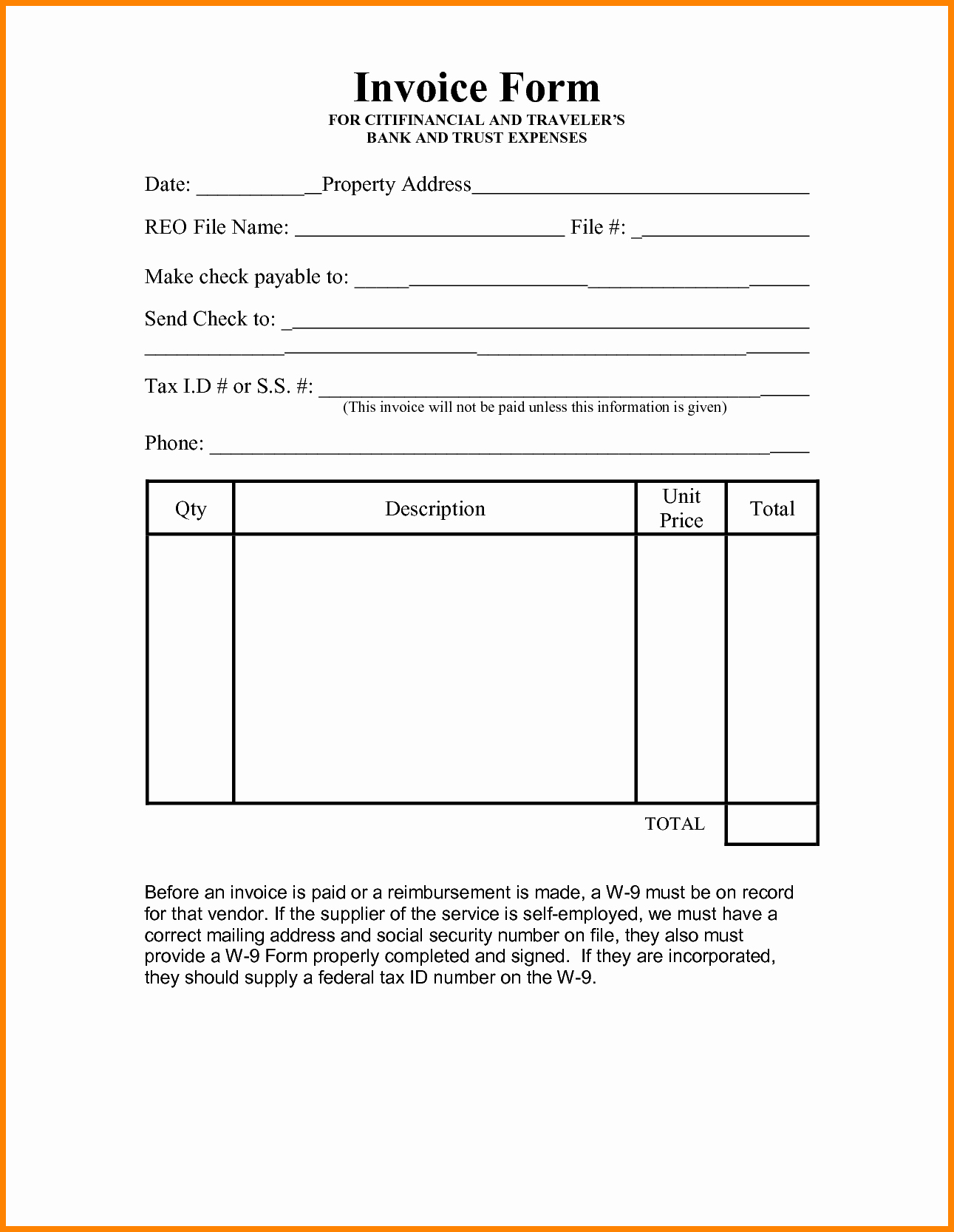 Self Employment Invoice Template Unique 10 Invoice Template for Self Employed