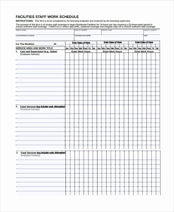 Self Scheduling for Nurses Template Beautiful 10 Nursing Schedule Samples & Templates – Pdf Word