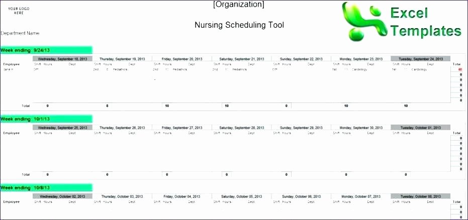 Self Scheduling for Nurses Template Best Of Best Nursing Schedule Template Download – Vraccelerator