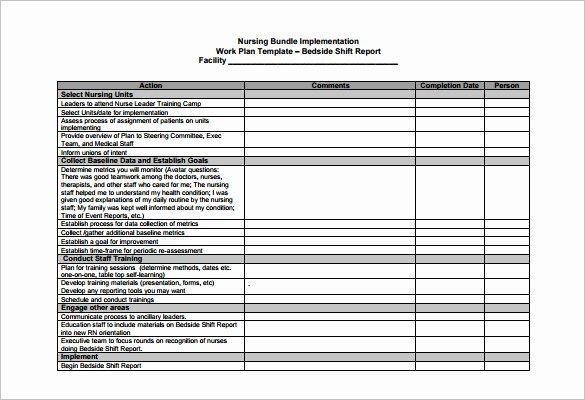 Self Scheduling for Nurses Template Elegant 5 Nursing Schedule Templates Doc Excel Pdf