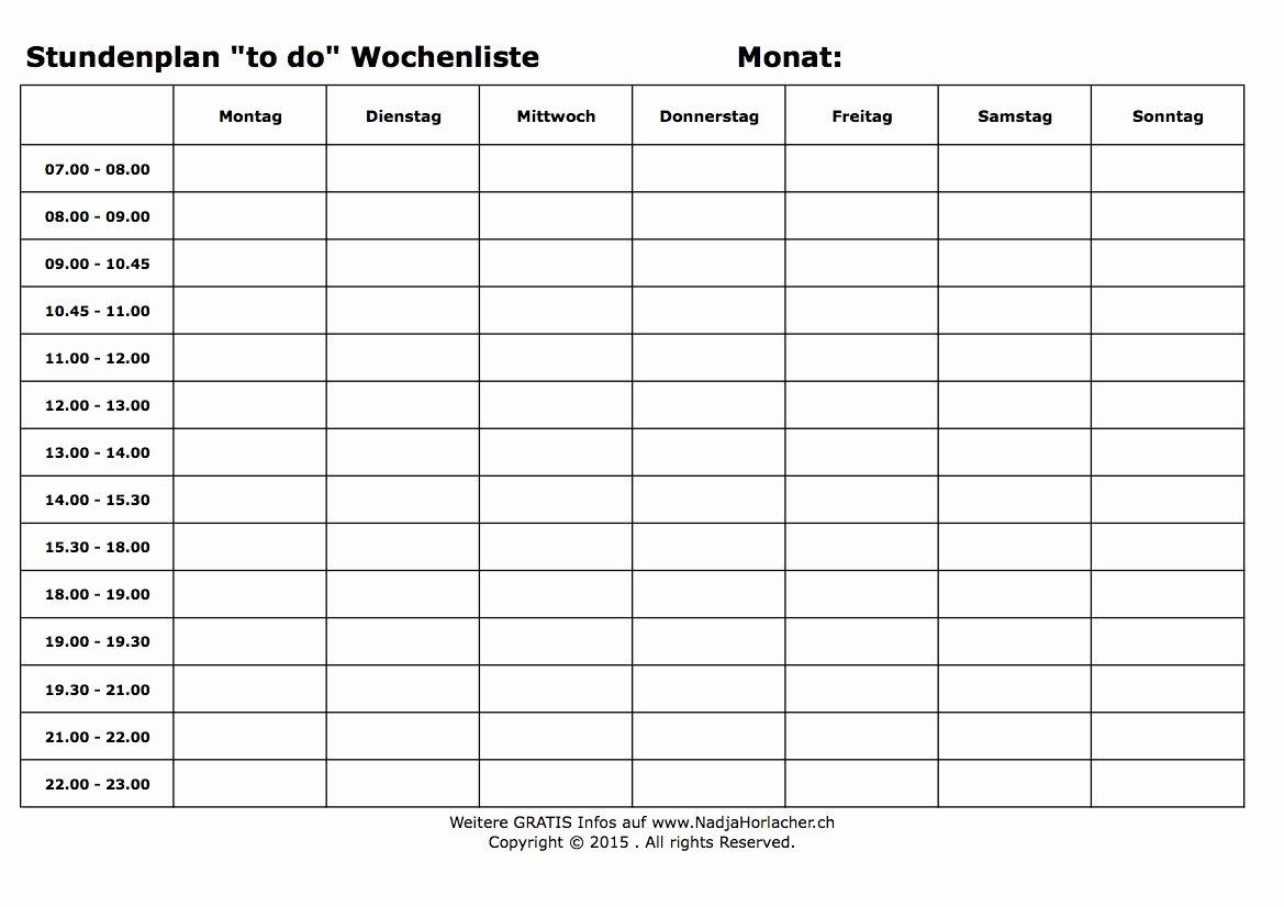 Self Scheduling for Nurses Template Elegant Vorlagen Erfolgreich Im Alltag Mit Nadja Horlacher
