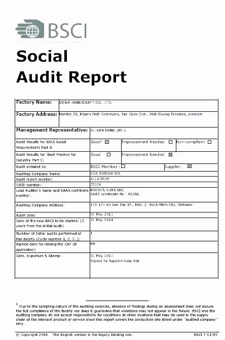 Seo Audit Report Template Lovely Audit Template Excel Internal Audit Report Template Lovely