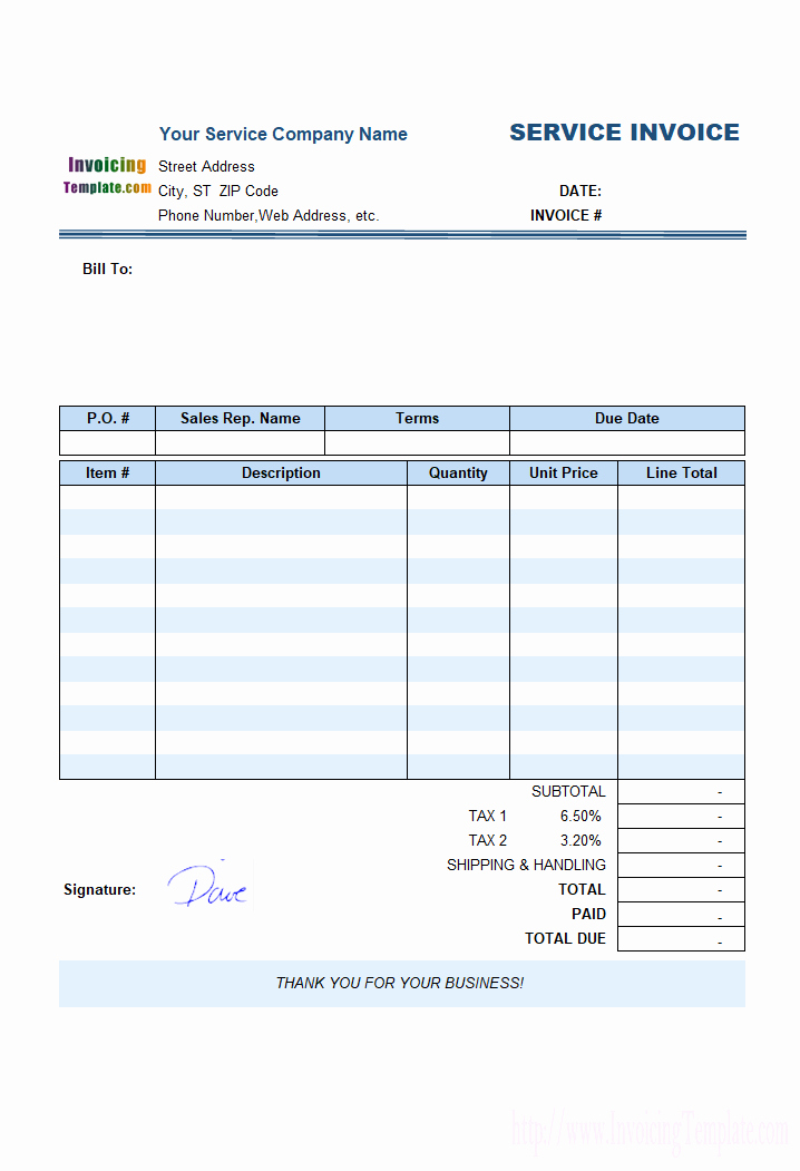 Service Invoice Template Free Lovely Free Invoice Template for Hours Worked 20 Results Found