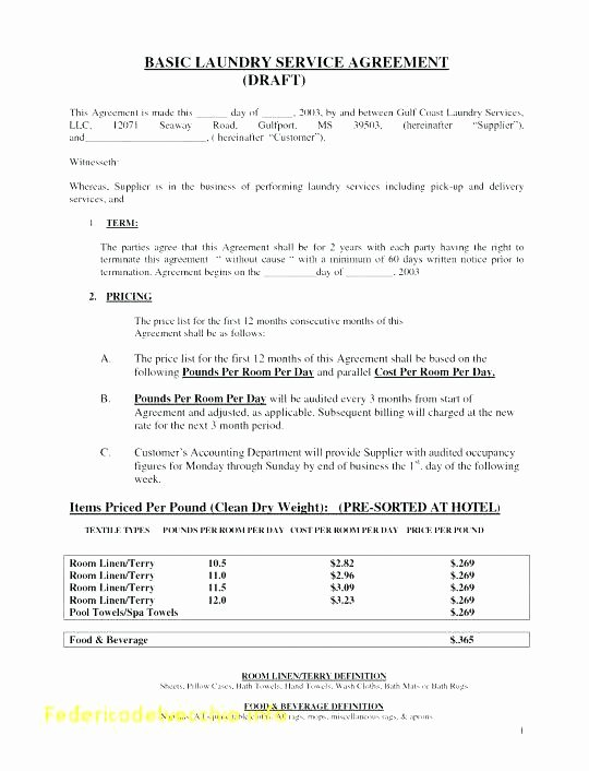 Shared Services Agreement Template Unique Template Word Example for Catering Services Sample Invoice