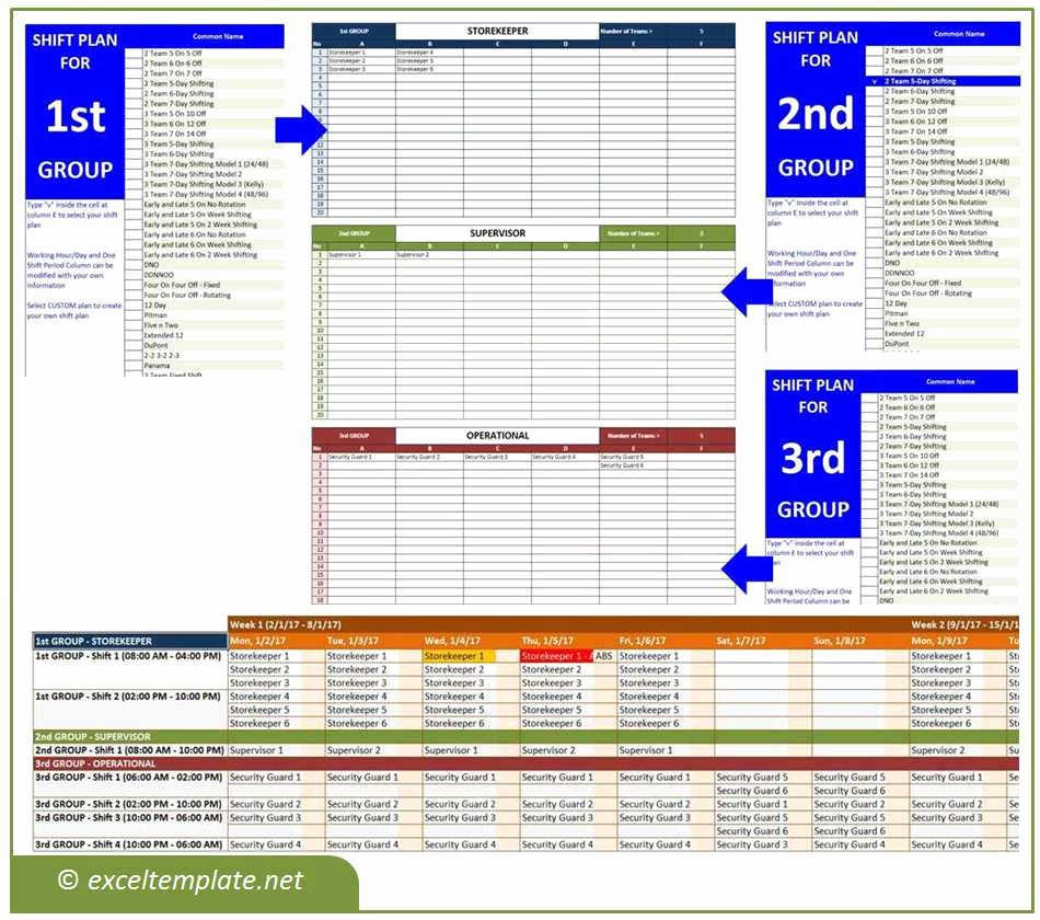 Shift Work Calendar Template New 24 7 Shift Roster Template Professional Report