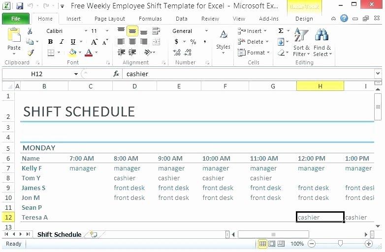 Shift Work Schedule Template Luxury Great Shift Schedule Template Shift Schedule