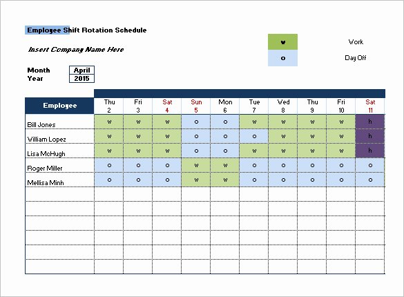 Shift Work Schedule Template Luxury Shift Schedule Templates – 12 Free Word Excel Pdf