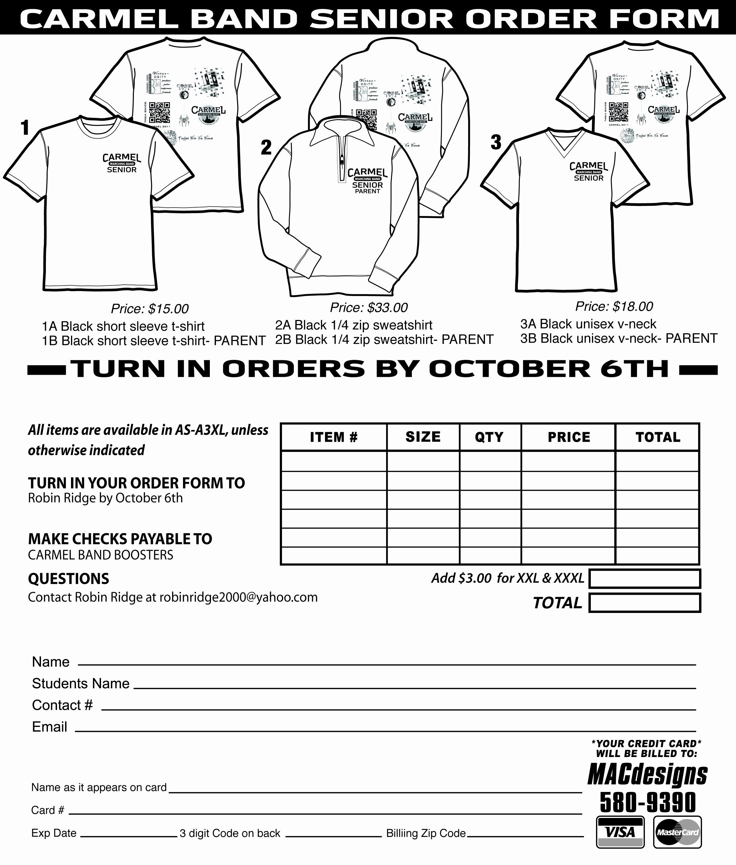 Shirt order form Template Awesome T Shirt order form Template