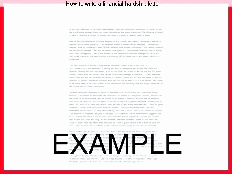 Short Sale Hardship Letter Template Best Of ️ Short Sale Hardship Letter Template Sample Short Sale