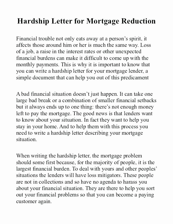 Short Sale Hardship Letter Template Fresh Hardship Letter for Immigration Example Awesome Sample