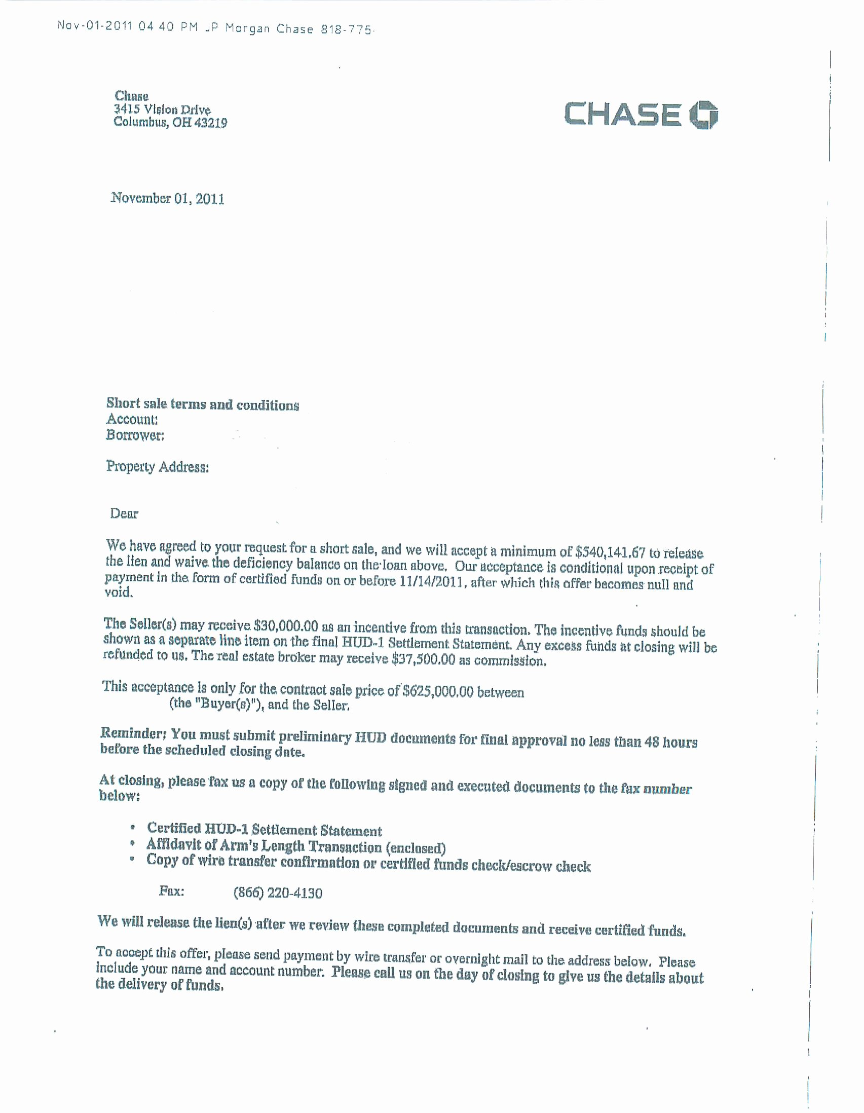 Short Sale Hardship Letter Template Lovely Best S Of Short Sale Letter Example Short Sale