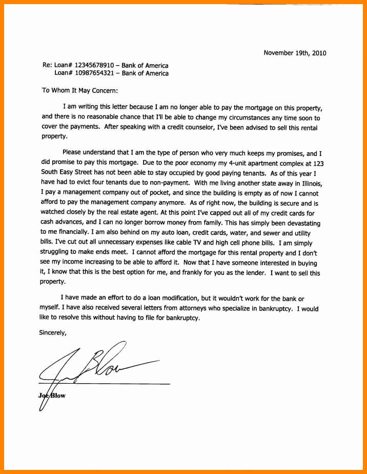 Short Sale Hardship Letter Template Luxury 6 Examples Of Hardship Letters for Immigration