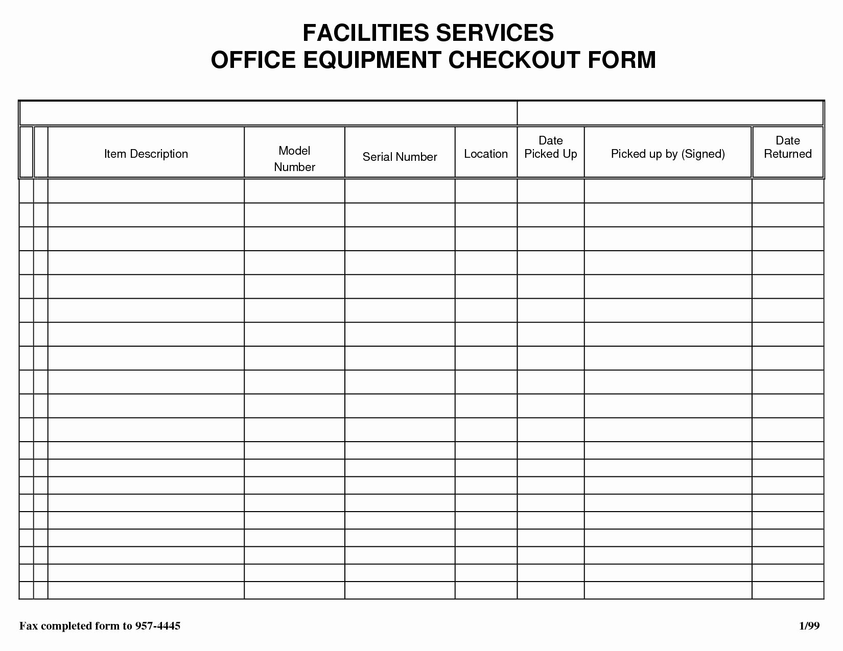 Sign In Out Sheet Template Lovely Sheet Inventory Sign Out Template Free Download In Sample