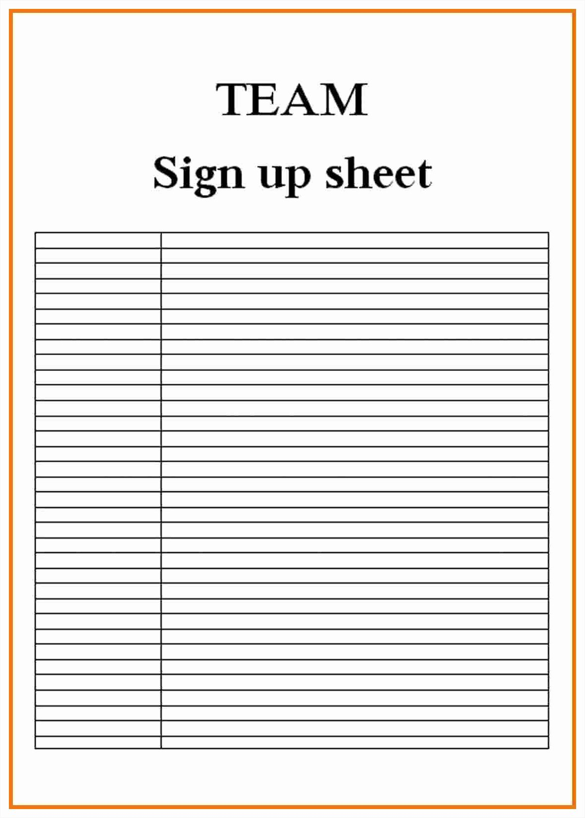 Sign In Sheet Template Doc Fresh Blank Sign Up Sheet Example Mughals