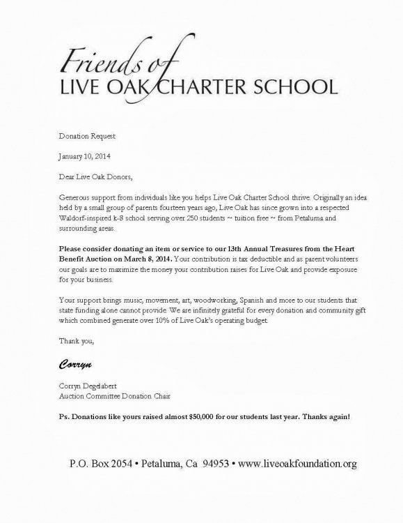 Silent Auction Donation Letter Template New Silent Auction Donation Request Letter Sample – 2018