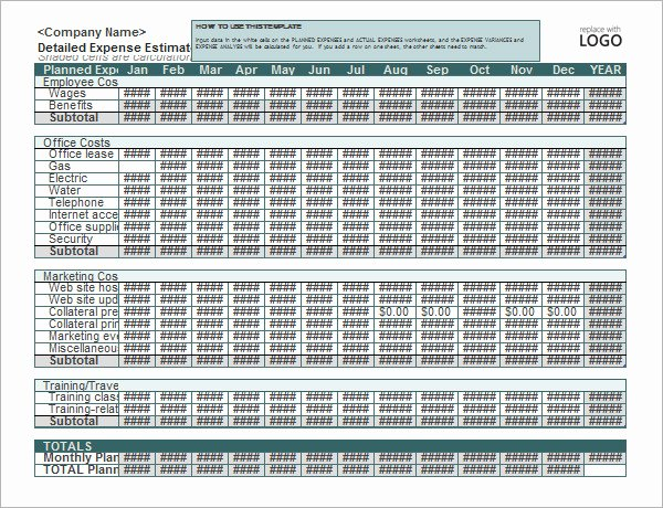 Simple Business Budget Template Best Of 10 Sample Business Bud Templates