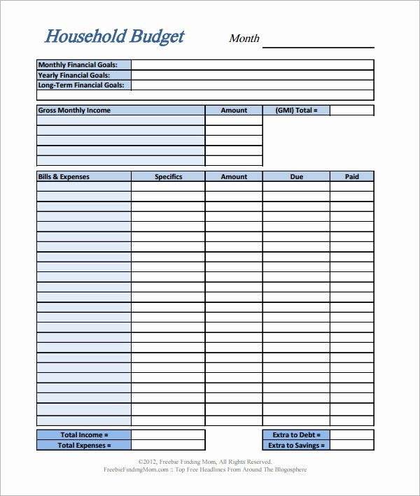 Simple Business Budget Template Best Of 11 Home Bud Samples
