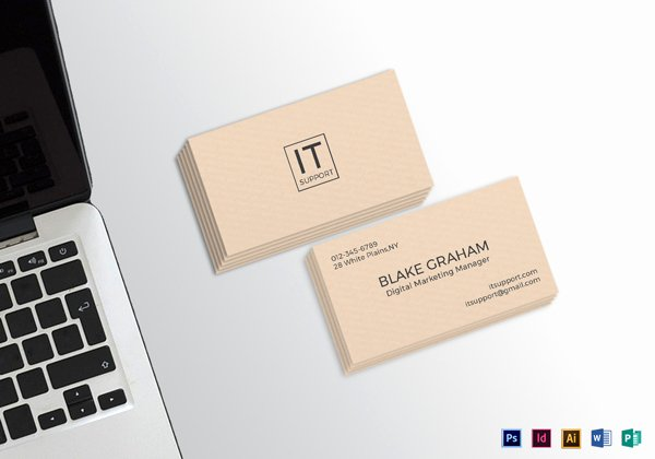 Simple Business Card Template Awesome 30 Minimalistic Business Card Designs Psd Templates