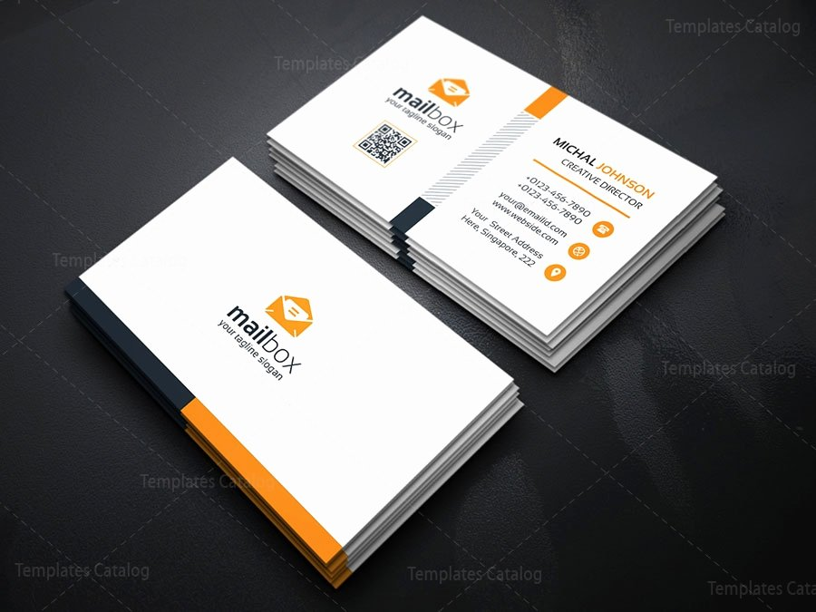 Simple Business Card Template Best Of Simple Business Card Design Template Template Catalog