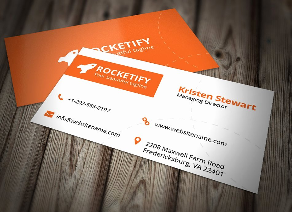 Simple Business Card Template Best Of Simple Business Card Template Business Card Templates