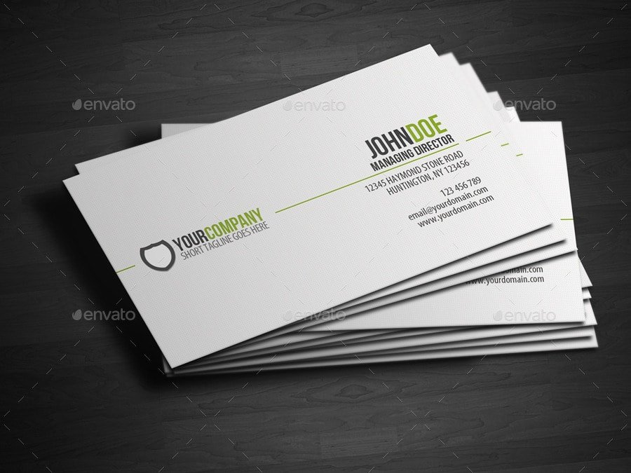 Simple Business Card Template Fresh 25 Best Business Card Templates Shop Designs 2017