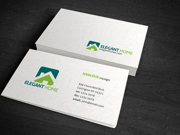 Simple Business Card Template Fresh 60 Premium & Free Business Card Templates