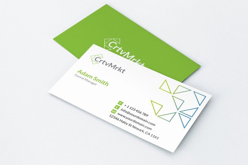 Simple Business Card Template Lovely Simple Business Card Business Card Templates On Creative