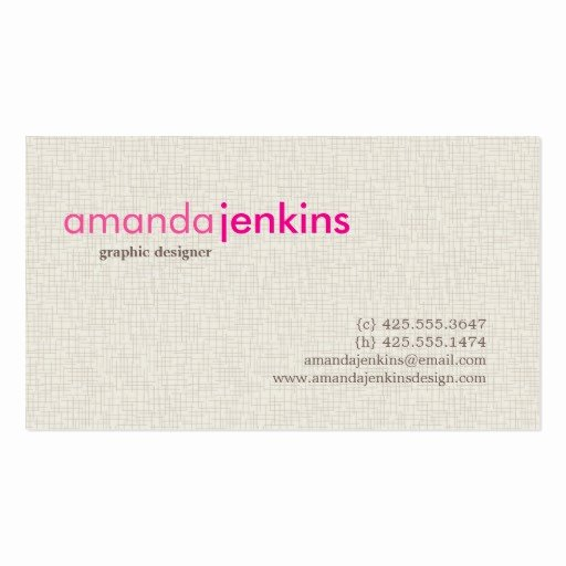 Simple Business Card Template Luxury Calling Card Business Card Templates Page35