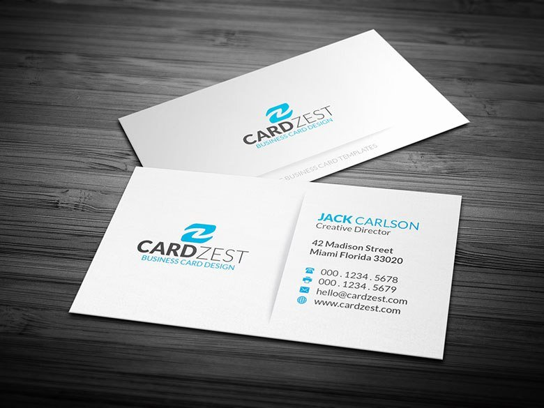 Simple Business Card Template Luxury Name Card Template