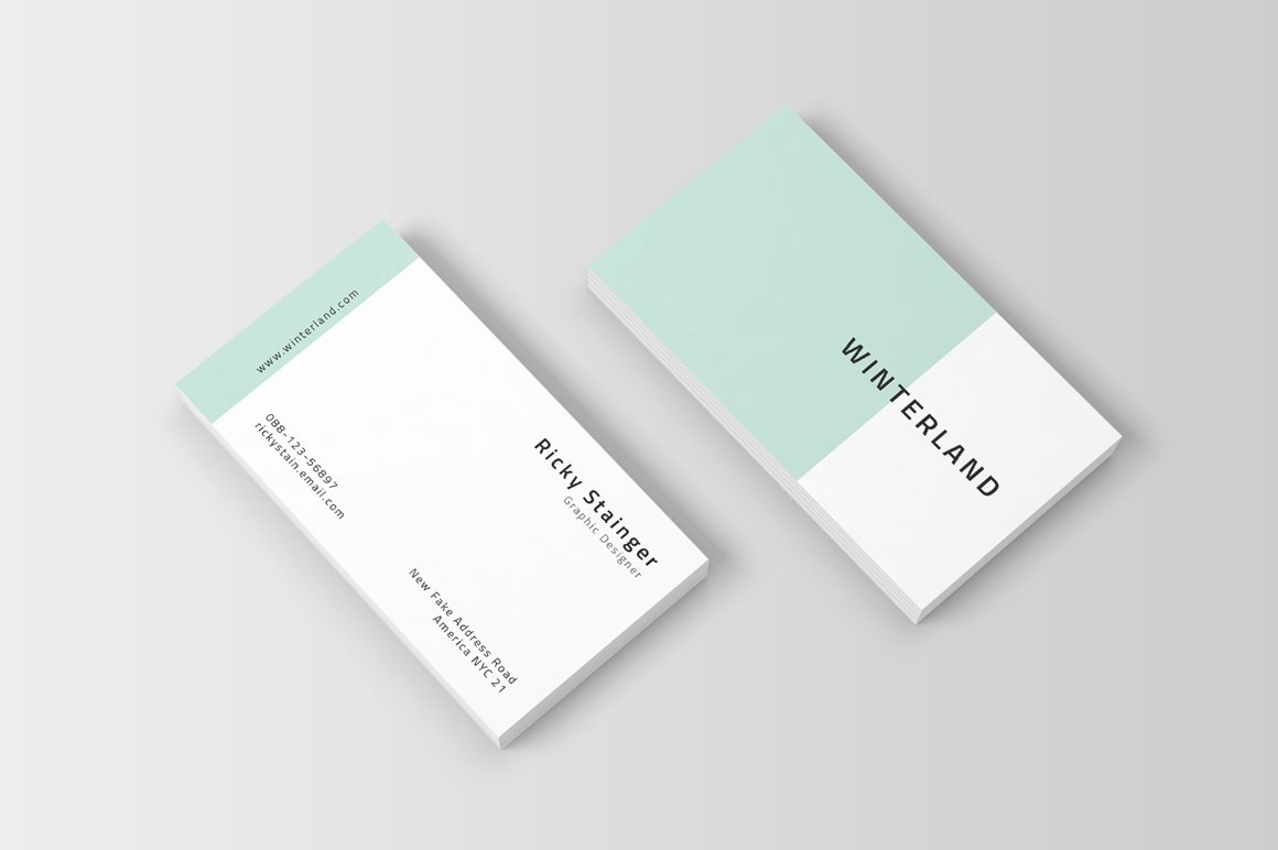Simple Business Card Template Luxury Simple Business Card Template Inspiration Cardfaves