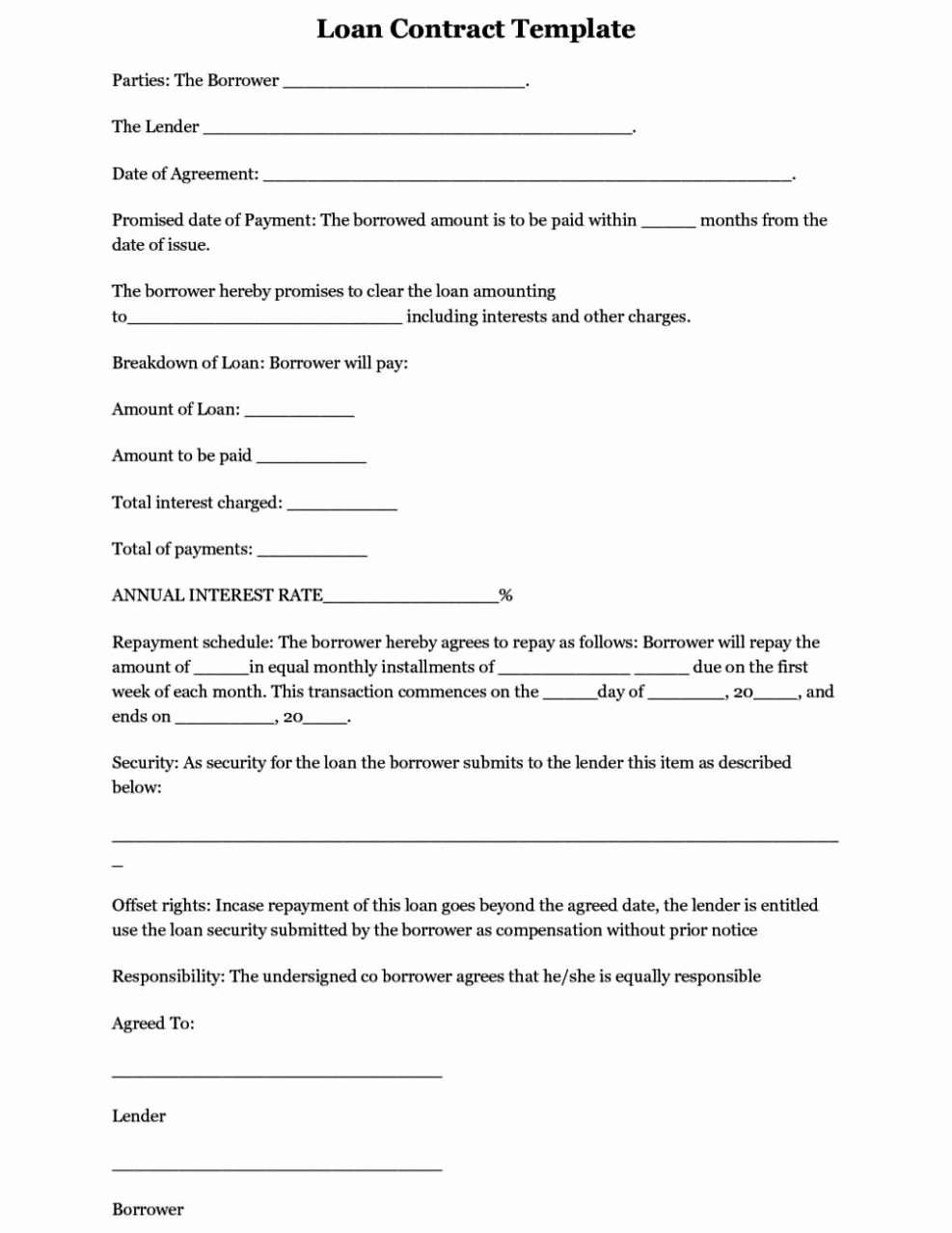 Simple Business Contract Template Inspirational Simple Business Contract Template Sampletemplatess