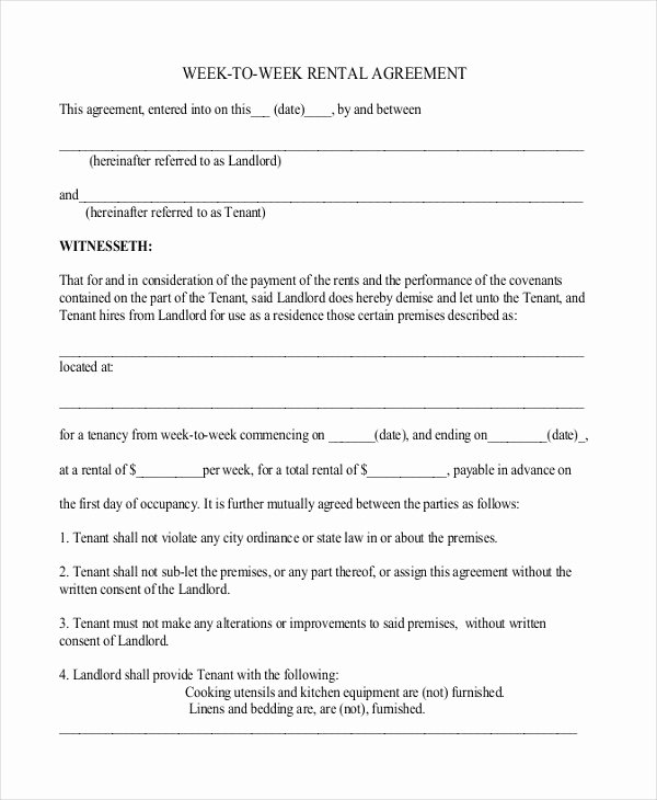 Simple Business Contract Template New 42 Simple Rental Agreement Templates Pdf Word
