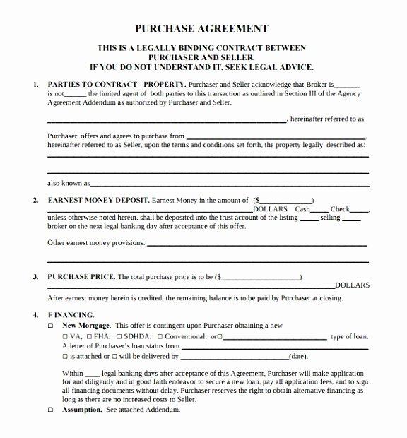 Simple Buy Sell Agreement Template Elegant 5 Simple Buy Sell Agreement Template Eaytt