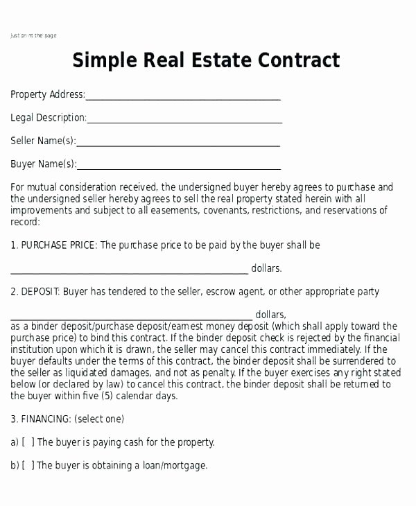 Simple Buy Sell Agreement Template Luxury Elegant Home Buyout Agreement form Awesome Residential