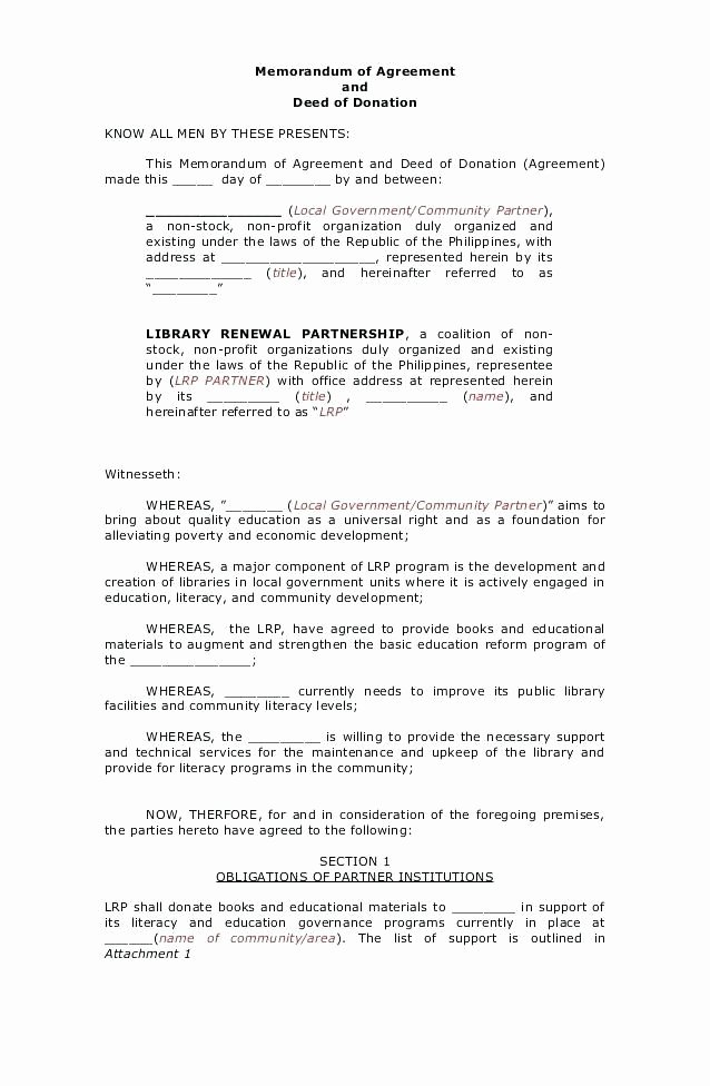 Simple Collaboration Agreement Template Awesome 99 Non Profit Operating Agreement Template Simple Llc