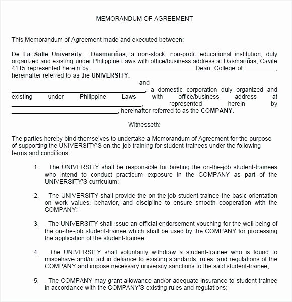 Simple Collaboration Agreement Template Awesome Examples Business Partnership Agreements Collaboration