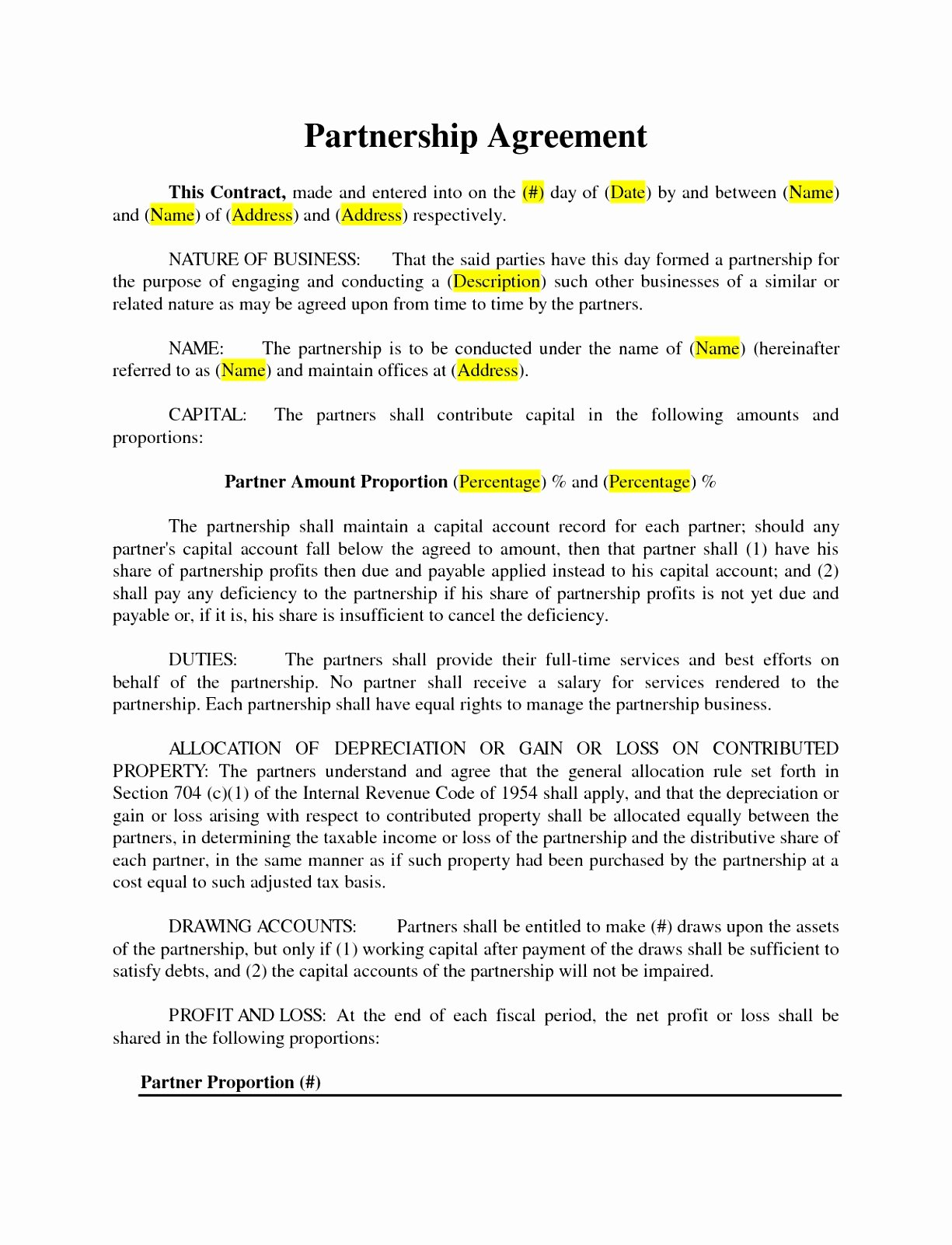 Simple Collaboration Agreement Template Lovely 9 Simple Collaboration Agreement Template Aifpe