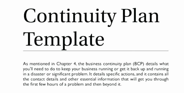 Simple Disaster Recovery Plan Template Luxury Simple Disaster Recovery Plan Template Simple Business