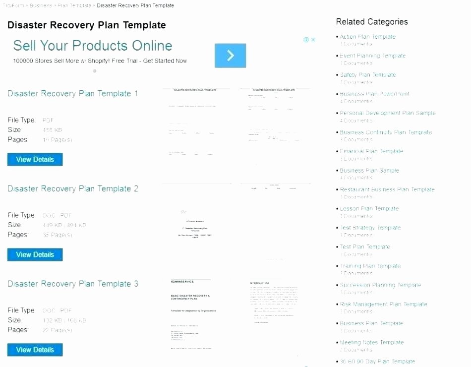 Simple Disaster Recovery Plan Template New Simple Disaster Recovery Plan Template – Tefutefufo