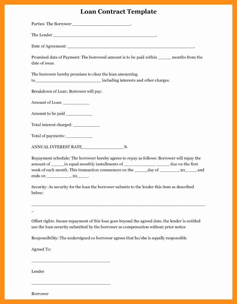 Simple Employment Contract Template Free Elegant 9 10 Simple Work Contract Template