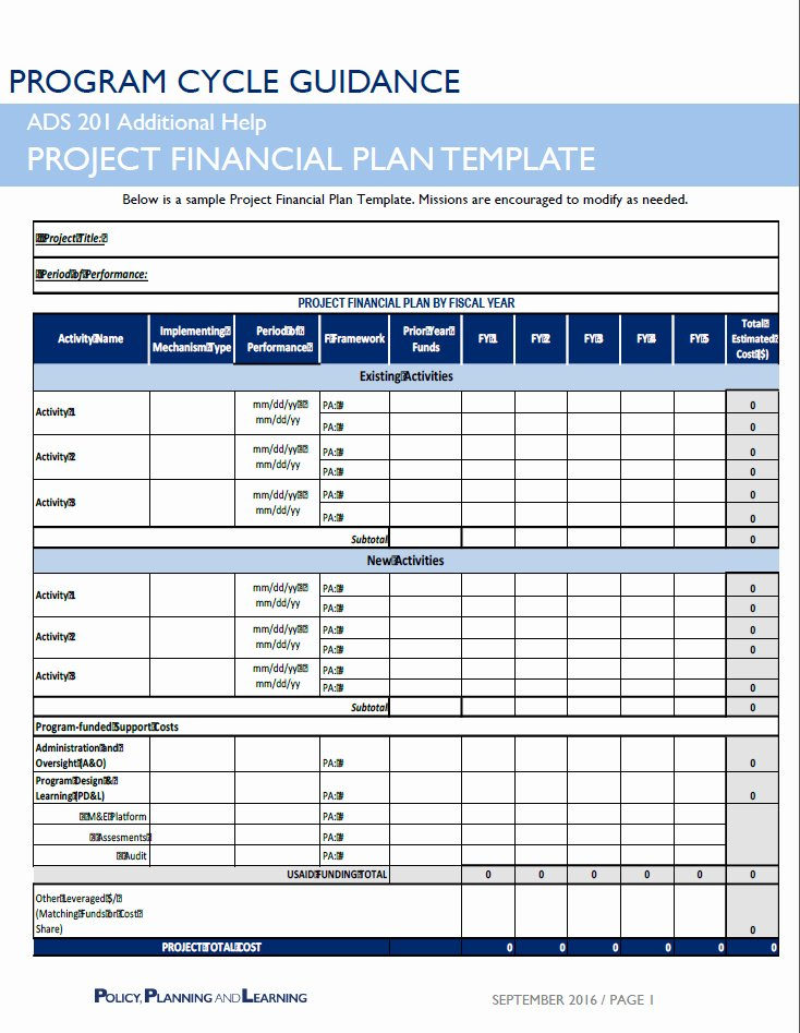 Simple Financial Plan Template Fresh Ads Reference 201sab