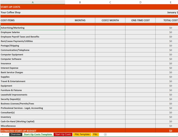 Simple Financial Plan Template Inspirational Excel