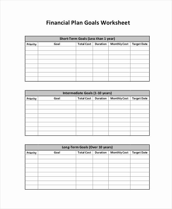 Simple Financial Plan Template Luxury 35 Sample Plan Templates