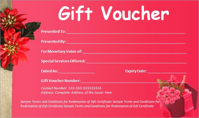 Simple Gift Certificate Template Awesome 36 Blank Voucher Templates Word Pdf Psd