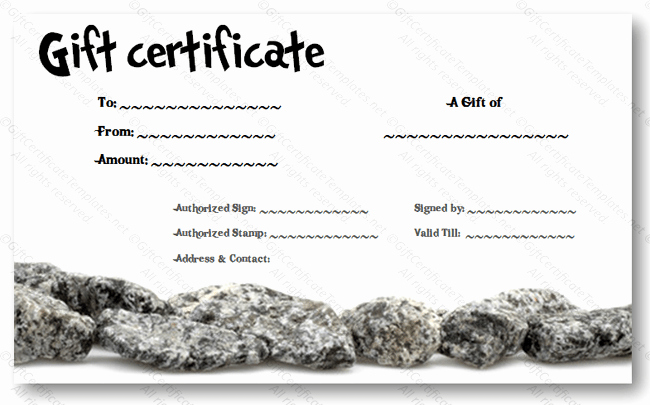 Simple Gift Certificate Template Awesome Simple T Certificate Templates