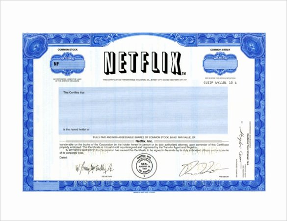 Simple Gift Certificate Template Best Of Netflix Gift Certificate Template – 5 Free Jpeg Documents