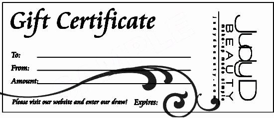 Simple Gift Certificate Template Lovely 16 Free Simple Gift Certificate Templates