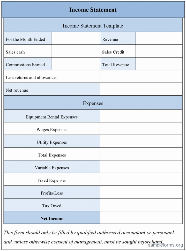 Simple Income Statement Template Elegant Free Excel In E Statement Template 2 Simple In E