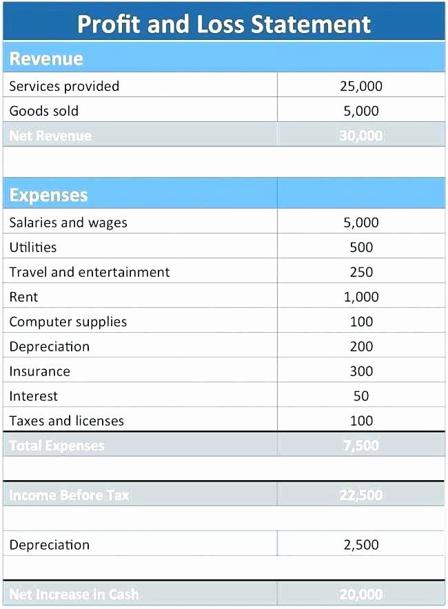 Simple Income Statement Template Luxury Basic In E Statement Example Template Personal Free Post