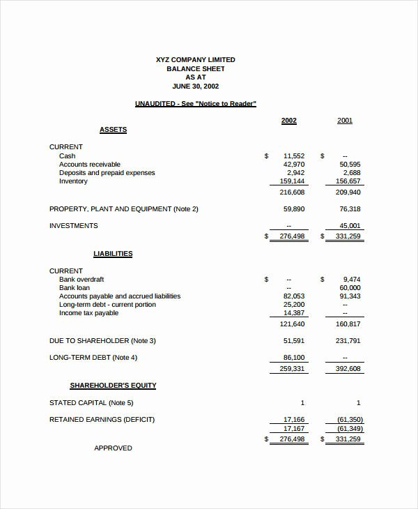 Simple Income Statement Template Luxury In E Statement format 12 Free Word Pdf formats